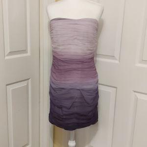 I.N.C. strapless dress size 8